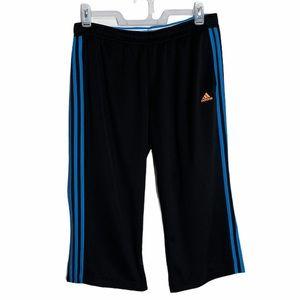 ADIDAS woman's carpi pants size large